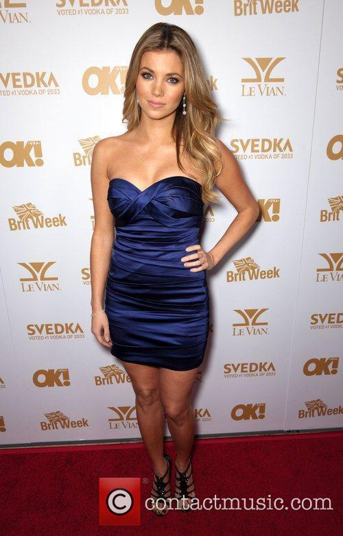 Amber Lancaster  OK! Magazine And BritWeek Celebrate...
