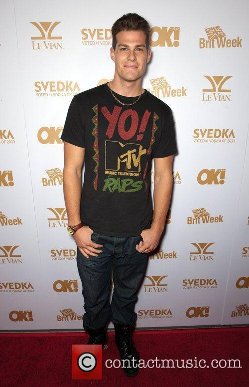 Greg Finley  OK! Magazine And BritWeek Celebrate...