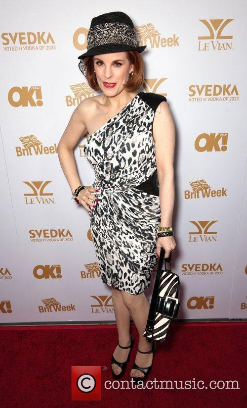 Kat Kramer  OK! Magazine And BritWeek Celebrate...