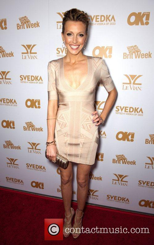 Katie Cassidy  OK! Magazine And BritWeek Celebrate...