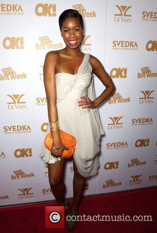 Tolula Adeyemi  OK! Magazine And BritWeek Celebrate...