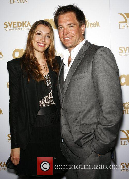 Michael Weatherly and wife Boj OK! Magazine And...