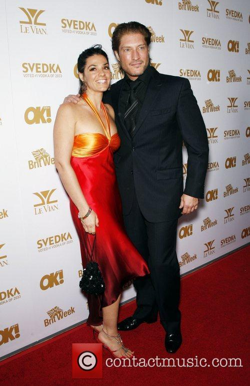 Michele Vega and Sean Kanan OK! Magazine And...