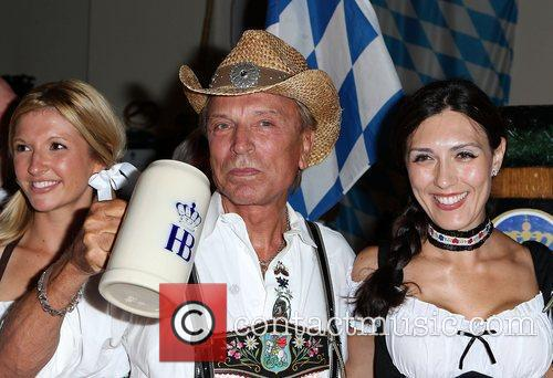 Siegfried and Roy Kick Off Oktoberfest at Hofbrauhaus...