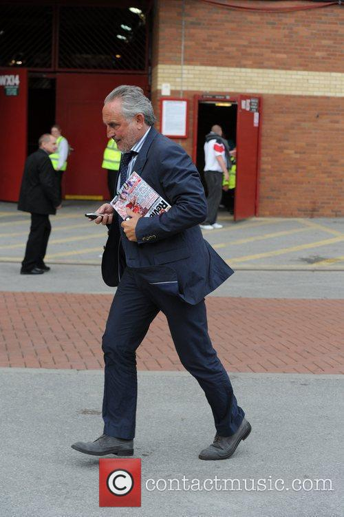Frank Lampard Senior Departures from Old Trafford following...