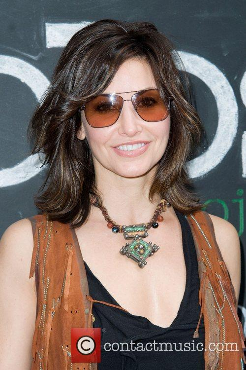 Gina Gershon The Olevolos Project Fundraiser Brunch at...