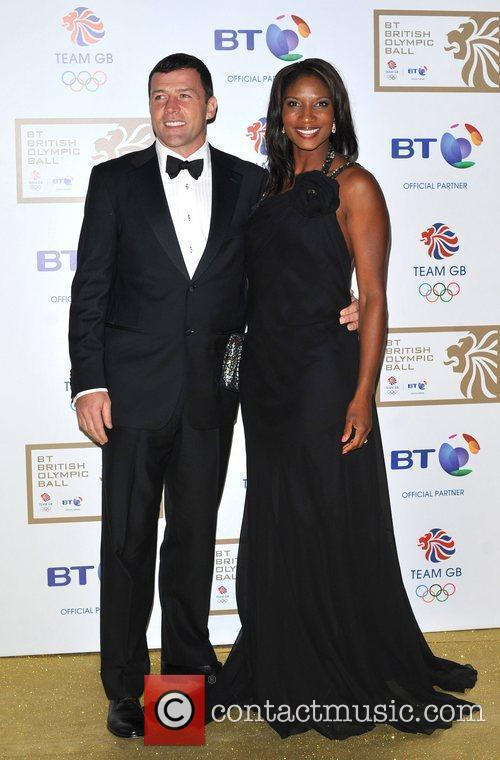 BT Olympic Ball held at Olympia - Arrivals.