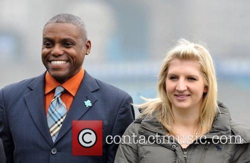 Carl Lewis and Rebecca Adlington 8