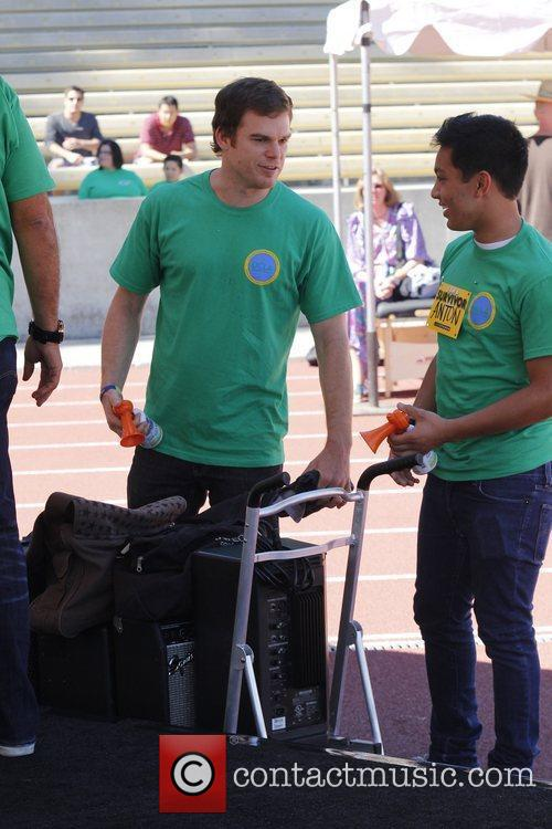 Michael C. Hall and UCLA 8