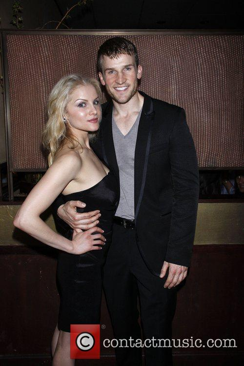 Larisa Polonsky and Claybourne Elder  Opening night...