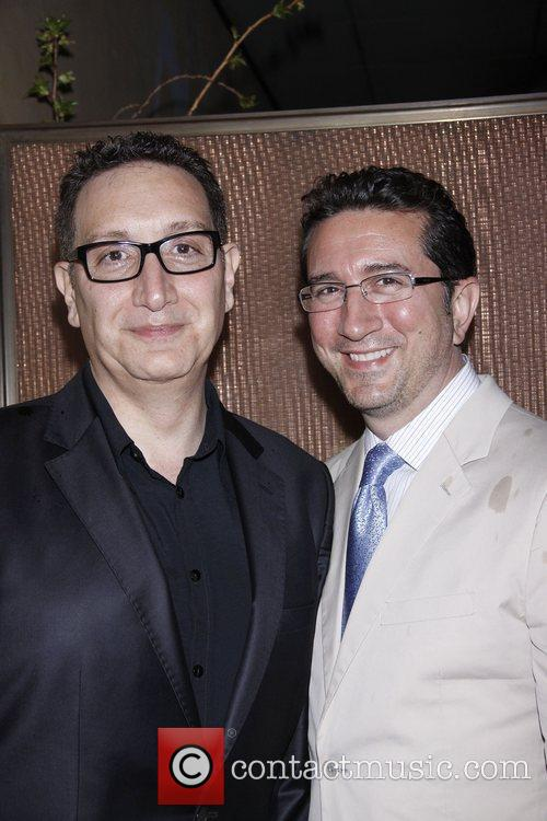 Moises Kaufman and Jeffey LaHoste  Opening night...