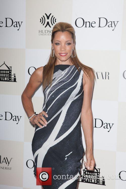 Michael Michele New York premiere of 'One Day'...