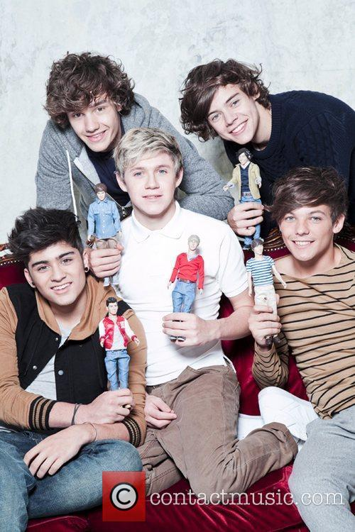One Direction dolls from Vivid for £16.99 available...