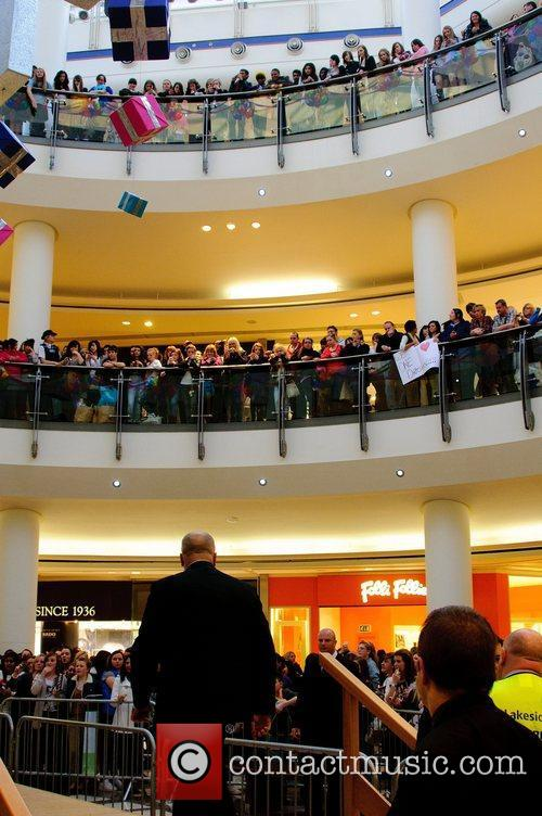 Atmosphere One Direction Photocall at Lakeside Shopping Center...