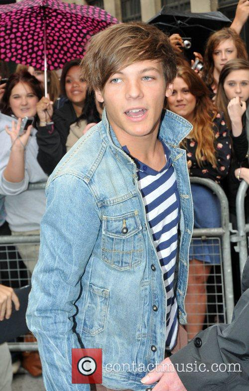 Louis Tomlinson  of One Direction outside the...