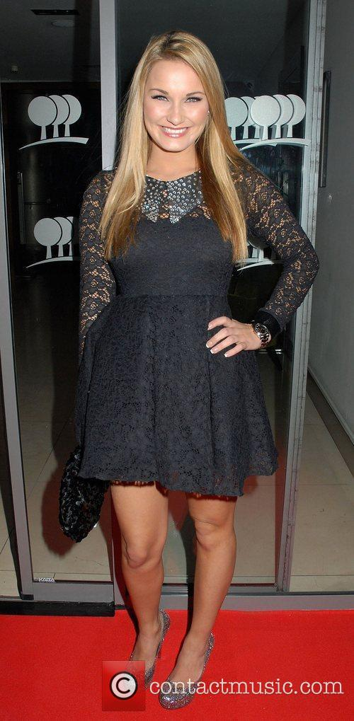 Sam Faiers,  at the One Goal Foundation...