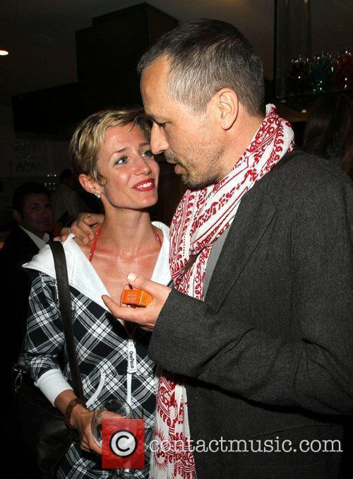 Lisa Dwan and Michael Wincott The grand opening...