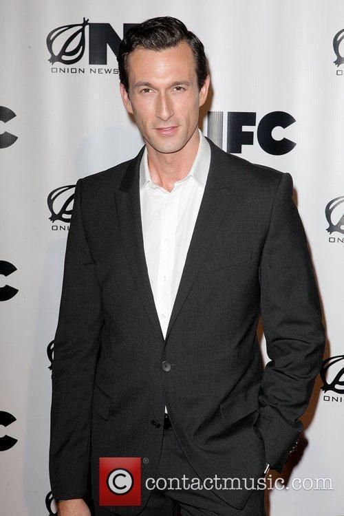 Aaron Lazar, aka, O'Brady Shaw IFC's 'Onion News...