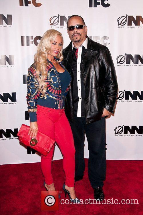 Coco Austin, Ice-T IFC's 'Onion News Network' season...