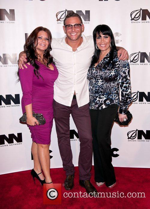 Karen Gravano, Renee Graziano, Chris Nirschel IFC's 'Onion...