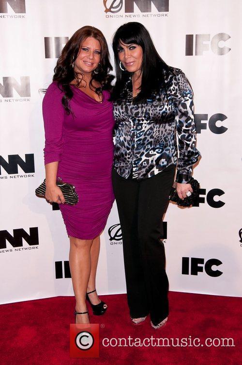 Karen Gravano, Renee Graziano IFC's 'Onion News Network'...