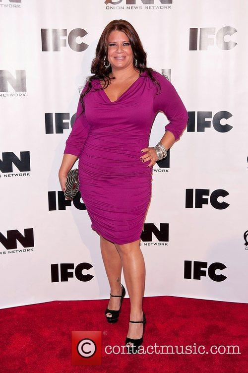 Karen Gravano IFC's 'Onion News Network' season 2...