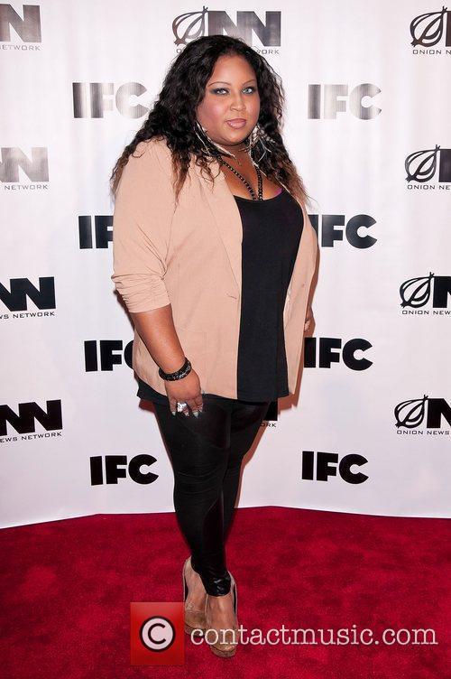 Tanisha Thomas IFC's 'Onion News Network' season 2...