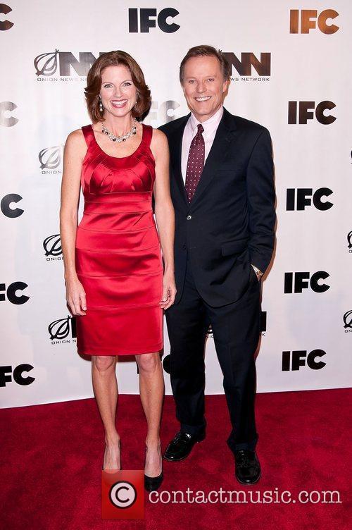 Tracy Toth, Brad Holbrook IFC's 'Onion News Network'...