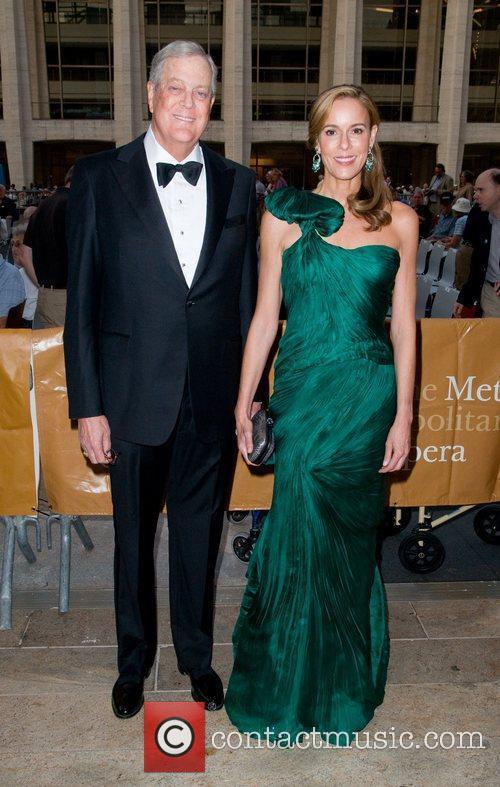 David Koch and Julia Koch The Metropolitan Opera...