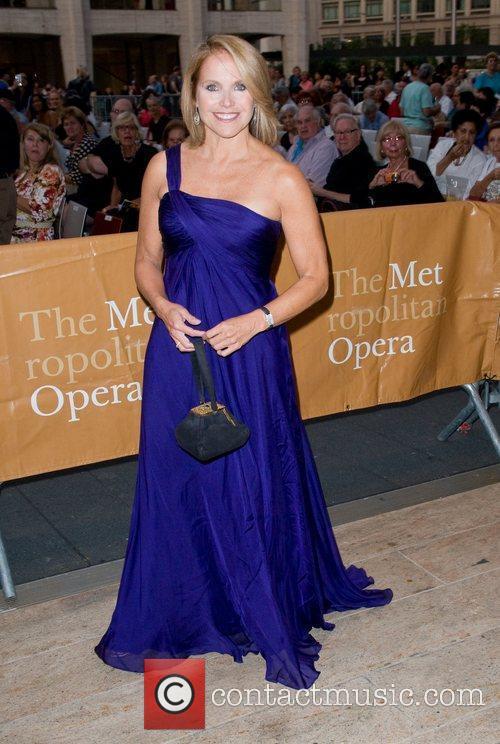Katie Couric The Metropolitan Opera Season opening night...