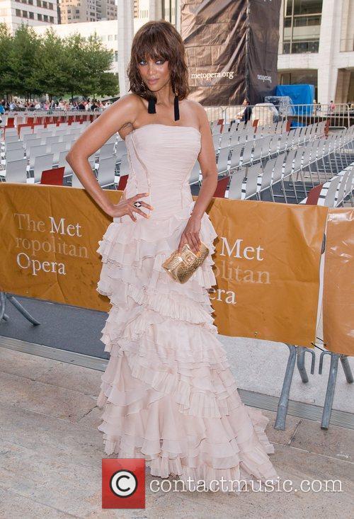 Tyra Banks The Metropolitan Opera Season opening night...
