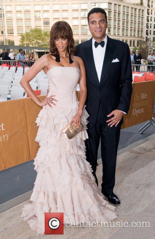 Tyra Banks and John Utendal The Metropolitan Opera...