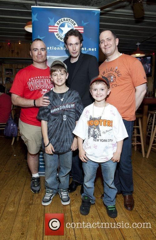 Operation Homefront held at Hooters NYC