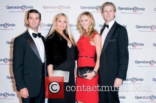 Donald Trump Jr, Eric Trump and Vanessa Trump 3