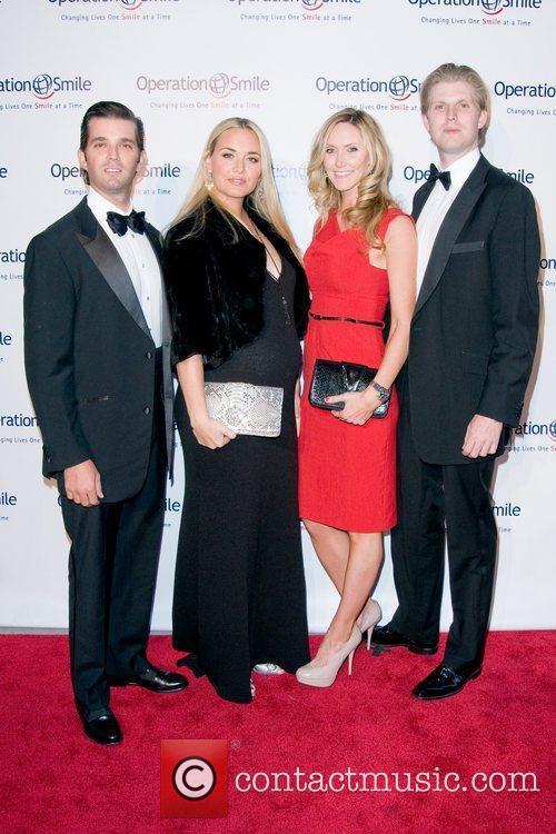 Donald Trump Jr, Eric Trump and Vanessa Trump 1
