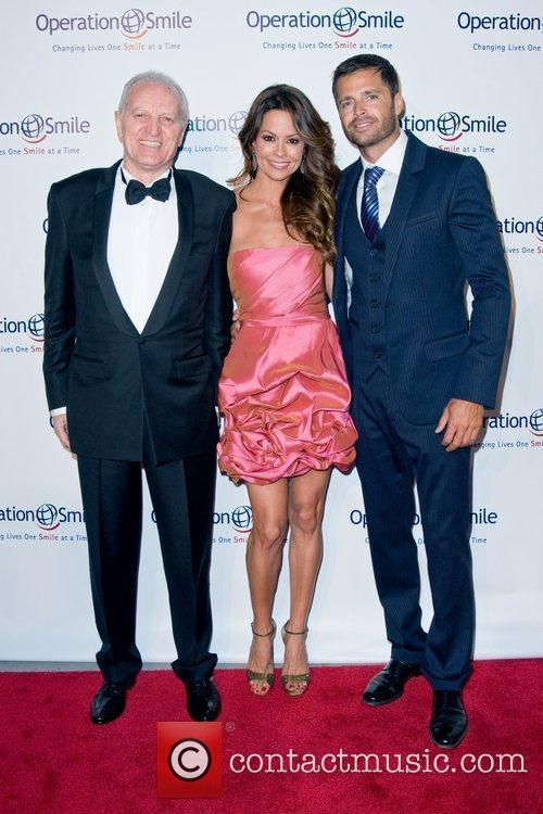 Versace, Brooke Burke and David Charvet 4