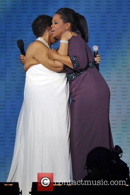 Aretha Franklin and Oprah Winfrey