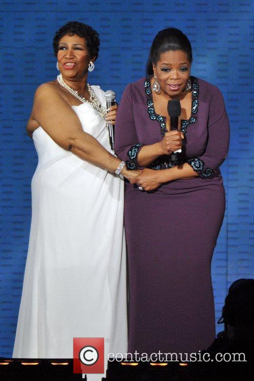 Aretha Franklin and Oprah Winfrey 7