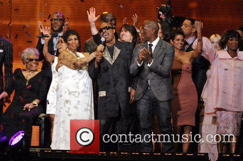 Aretha Franklin and Stevie Wonder 3