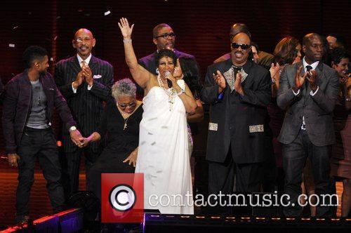 Aretha Franklin and Stevie Wonder 2