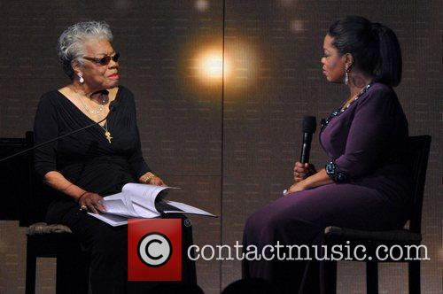 Maya Angelou and Oprah Winfrey 2