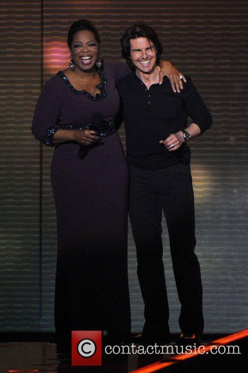 Oprah Winfrey and Tom Cruise  during Surprise...
