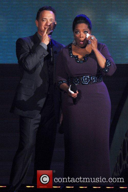 Oprah Winfrey and Tom Hanks 4