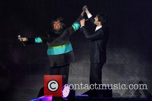Patti Labelle and Josh Groban 2