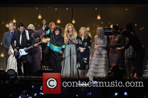 Patti Labelle, Beyonce Knowles, Dakota Fanning and Madonna 5