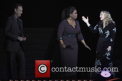 Tom Hanks, Madonna and Oprah Winfrey 1