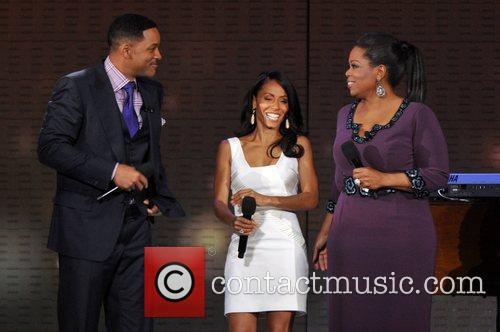 Will Smith, Jada Pinkett-smith and Oprah Winfrey 1
