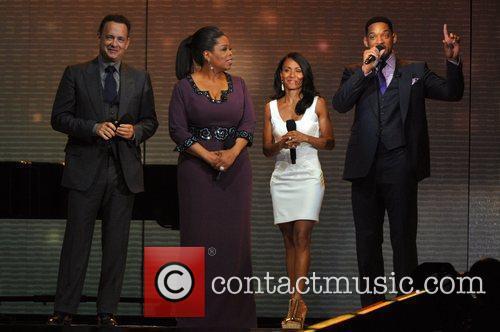Will Smith, Jada Pinkett-smith, Oprah Winfrey and Tom Hanks 3