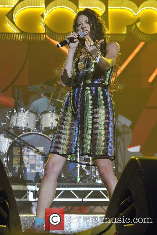 Eliza Doolittle performs at the Orange Rockcorps show,...