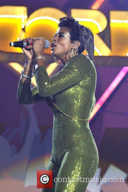 Kelis aka Kelis Rogers performs at the Orange...